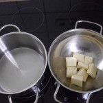 Weiße Mousse au Chocolate ohne Ei