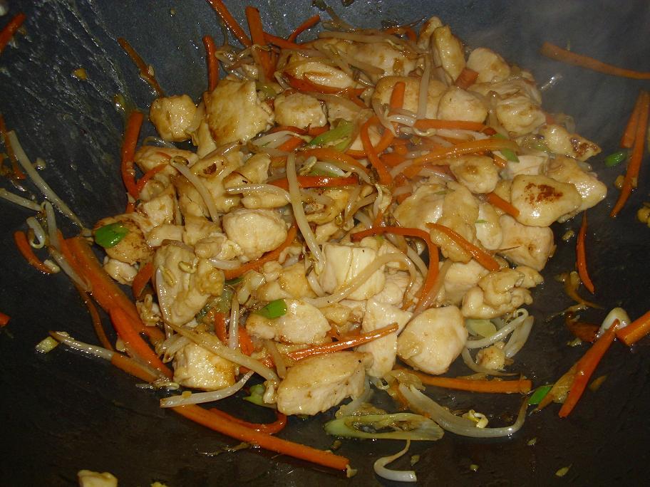 Huhn mit Ingwer