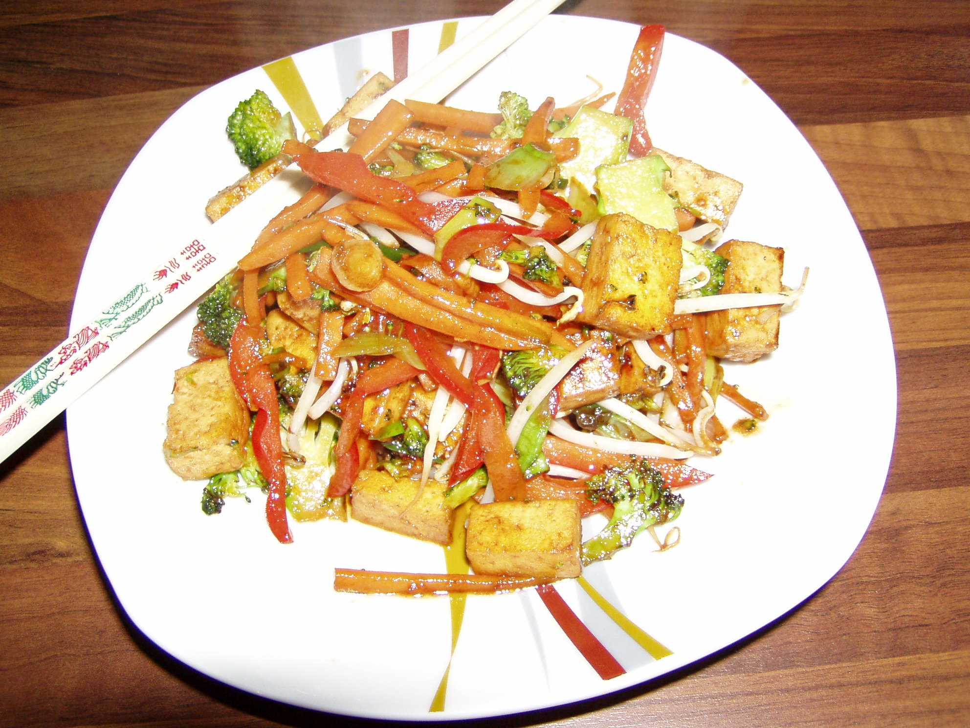 Tofu mit Hoisin Sauce