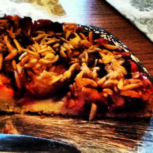 Pflaumenkuchen mit Mandel und Zimt