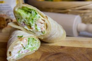 Wraps sind die beste Art, Kindern Gemüse und Salat schmackhaft zu machen