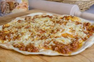 Warum einen Wrap nicht vorher als Pizza zubereiten?
