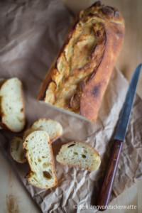 Das Kartoffelbaguette, über welches ich Ylva kennen lernte